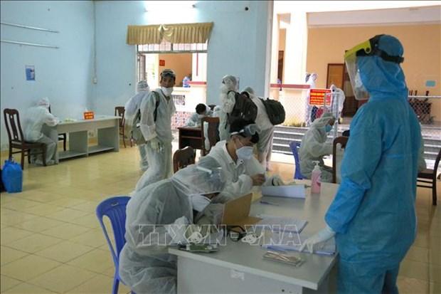 Vietnam registra ocho nuevos casos importados del COVID-19 hinh anh 1