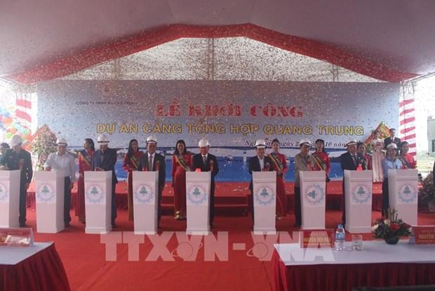 Inician proyecto del puerto general capaz de acoger a buques de gran tonelaje en Vietnam hinh anh 1