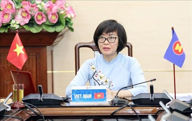 ASEAN incorpora asuntos de genero en politicas laborales en busca de empleos sostenibles hinh anh 1