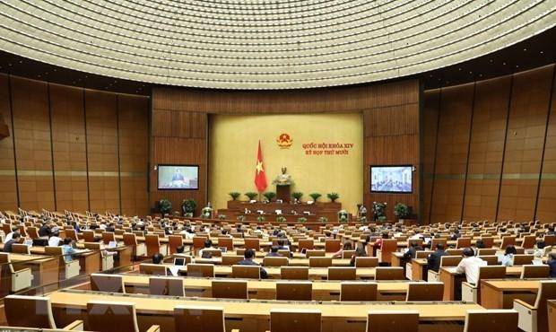 Parlamento de Vietnam debatira sobre labores juridicas y lucha contra la delincuencia hinh anh 1