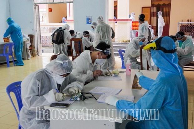 Termina la cuarentena de ciudadanos vietnamitas repatriados de Brunei hinh anh 1