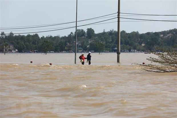Organizaciones internacionales muestran solidaridad con los afectados por inundaciones en Vietnam hinh anh 1