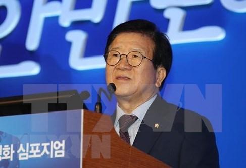 Presidente de la Asamblea Nacional de Corea del Sur visitara Vietnam hinh anh 1