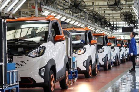 Tailandia fija la meta convertirse en centro de vehiculos electricos del Sudeste Asiatico hinh anh 1