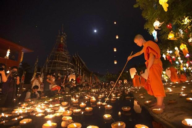 Tailandia reforzara la seguridad durante festival Loy Krathong hinh anh 1