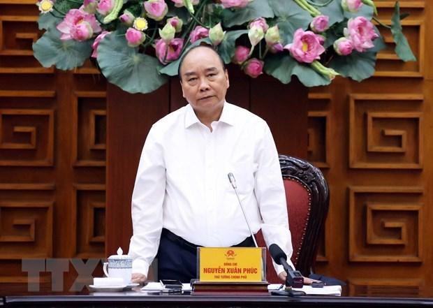Premier vietnamita subraya la necesidad de modernizar sistema ferroviario nacional hinh anh 1