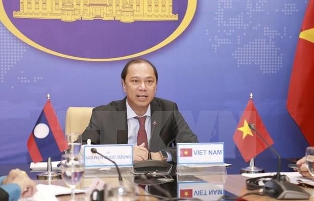 Realizan Vietnam y Laos quinta Consulta Politica hinh anh 1