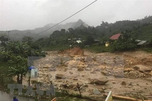 Solidariza secretario general de ONU a Vietnam por consecuencias de desastres naturales hinh anh 1