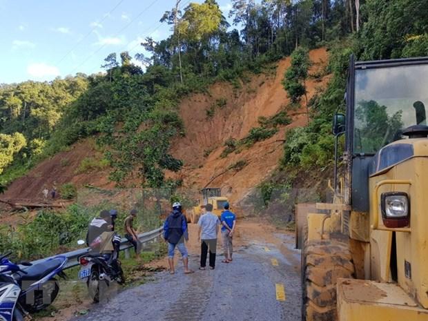 Vietnam adopta medidas para superar consecuencias de deslaves de tierra hinh anh 1