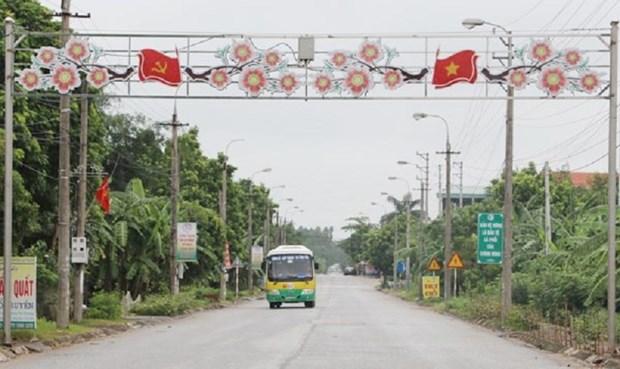Lap Thach trabaja para convertirse en un polo industrial en la provincia vietnamita de Vinh Phuc hinh anh 1