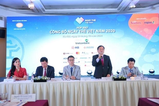 Lanzan Dia de Tarjeta de Vietnam 2020 para promover pago sin efectivo hinh anh 1