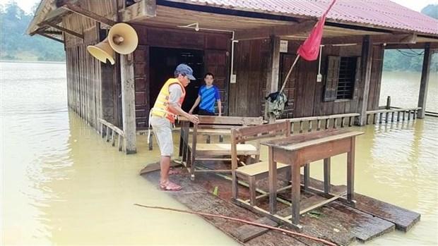 Vietnamitas en Suiza hacia connacionales en zonas afectadas por inundaciones hinh anh 1
