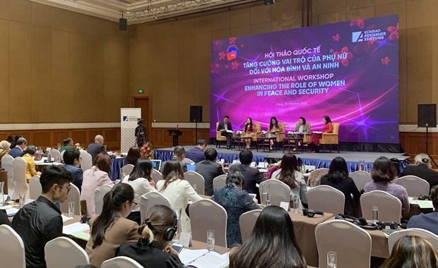 Taller internacional sobre papel de mujeres en la paz y seguridad hinh anh 1