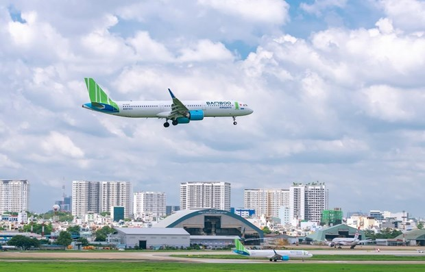 Bamboo Airways Inaugurara primer salon de negocios en aeropuerto de isla de Con Dao hinh anh 1
