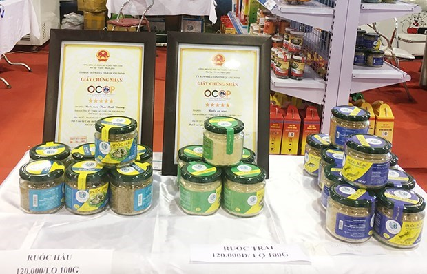 Abren en Quang Ninh Feria de productos locales hinh anh 1