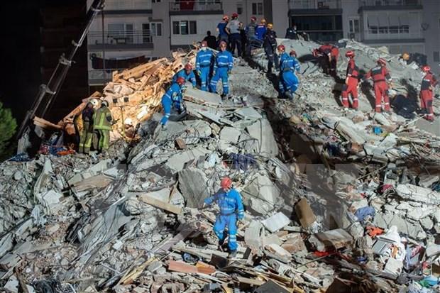 No se reportan victimas vietnamitas en terremoto en Turquia y Grecia hinh anh 1