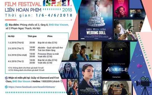 Celebraran en Vietnam festival de cine de Israel hinh anh 1