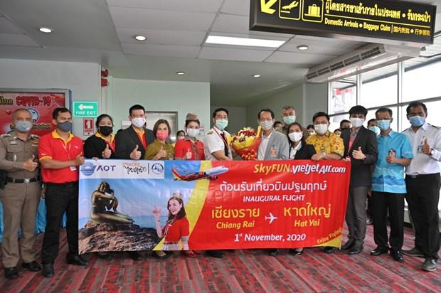 Vietjet amplia su red de vuelos en Tailandia hinh anh 1
