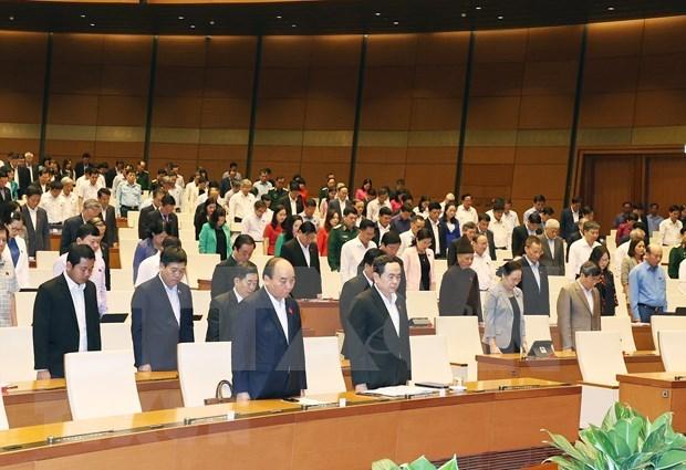 Parlamento vietnamita cumple un tercio de su agenda en decimo periodo de sesiones hinh anh 1