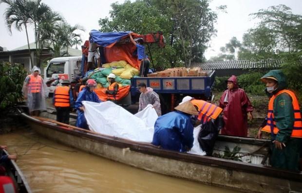 Corea del Norte se solidariza con Vietnam por desastres naturales hinh anh 1
