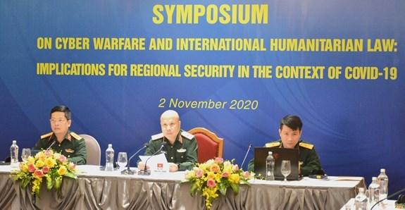 Vietnam fomenta cooperacion de defensa en seguridad cibernetica en ADMM+ hinh anh 1