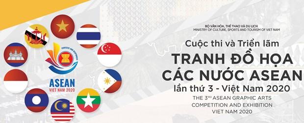 Hanoi acogera la tercera exposicion de artes graficas de la ASEAN hinh anh 1