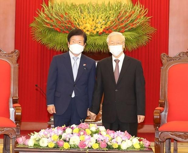 Corea del Sur busca elevar relaciones con Vietnam, destaca prensa sudcoreana hinh anh 1