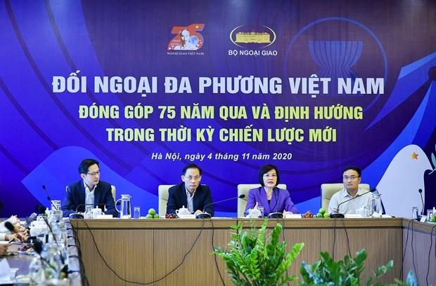 Efectuan seminario sobre diplomacia multilateral de Vietnam hinh anh 1