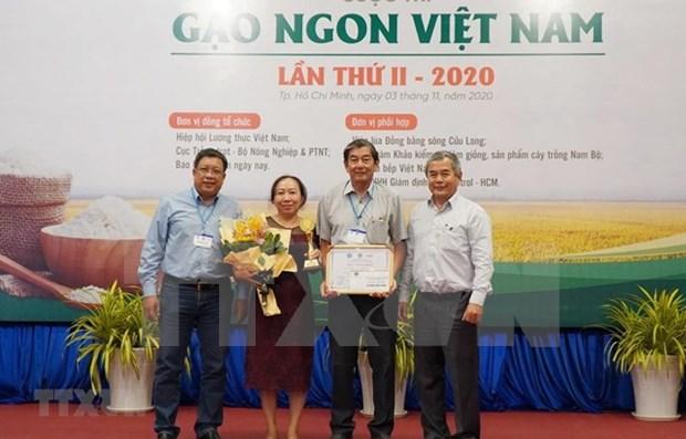 Reconocen a ST25 como la mejor variedad de arroz de Vietnam en 2020 hinh anh 1