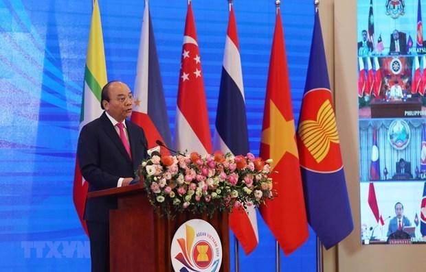 Cumbre de ASEAN y reuniones relacionadas se celebraran la proxima semana hinh anh 1