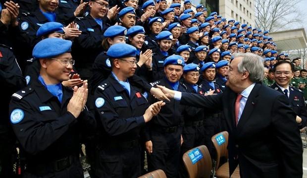 Vietnam reafirma apoyo a actividades del matenimiento de paz hinh anh 1