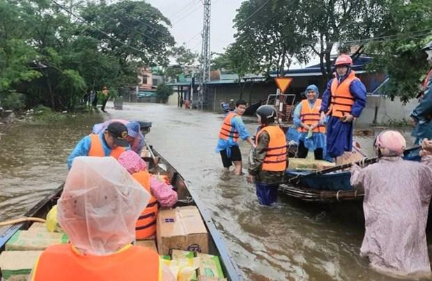 Movilizan recursos para apoyar a la region central de Vietnam hinh anh 1