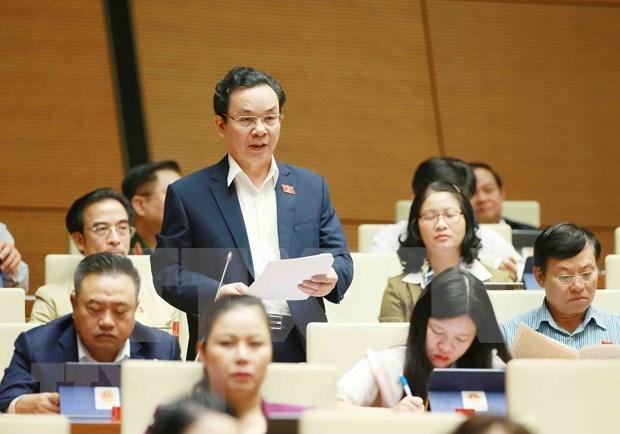 Parlamento de Vietnam discute soluciones para el desarrollo sostenible hinh anh 1