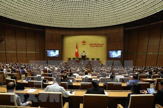 Parlamento de Vietnam debate medidas destinadas al desarrollo sostenible de la economia hinh anh 1