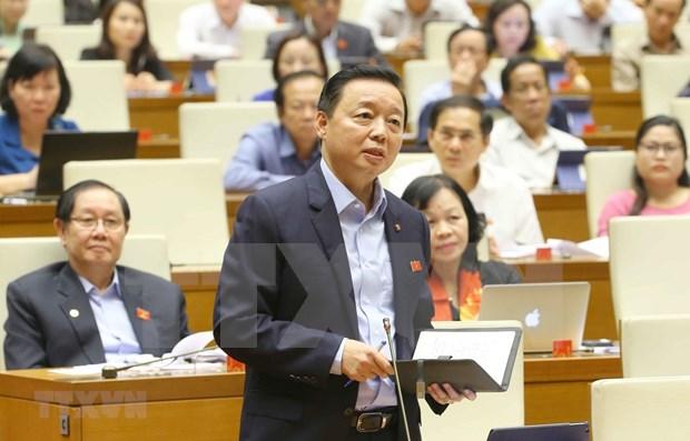 Concluye Parlamento de Vietnam cuarta jornada presencial de X periodo de sesiones hinh anh 1
