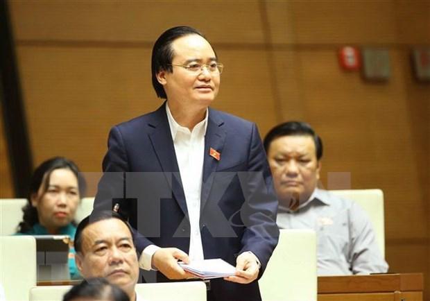 Aclaran dudas sobre costo para despliegue del nuevo programa de educacion general en Vietnam hinh anh 1