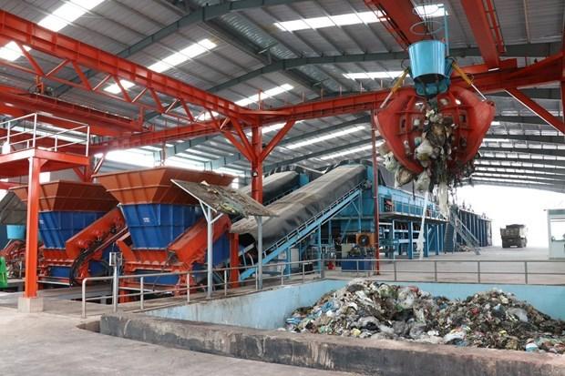 Compania japonesa invierte en sector ambiental en Vietnam hinh anh 1