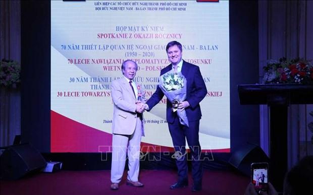 Conmemoran aniversario de relaciones Vietnam-Polonia hinh anh 1