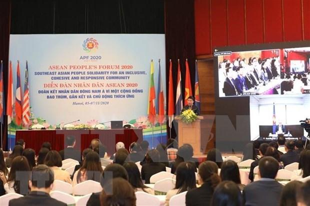 Clausuran Foro de los Pueblos de ASEAN hinh anh 1