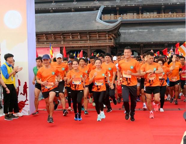 En Vietnam maraton caritativo a favor de ninos con enfermedades oculares hinh anh 1