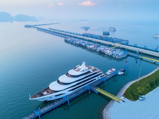 Puerto de cruceros vietnamita honrado como el mejor de Asia hinh anh 1