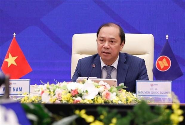Preside Vietnam Conferencia preparatoria de Altos Funcionarios de la ASEAN hinh anh 1