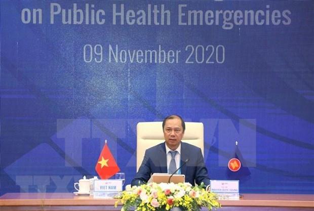 ASEAN se une a la lucha conjunta contra COVID-19 hinh anh 1
