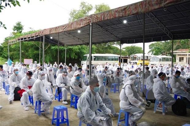 Vietnam reporta dos casos nuevos importados del COVID-19 hinh anh 1