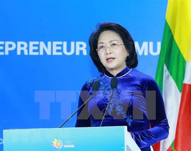 Vietnam efectua Cumbre de Mujeres Emprendedoras de la ASEAN hinh anh 1