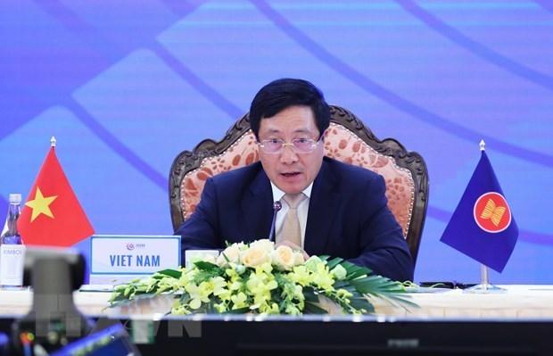 Paises de ASEAN fortalecen cooperacion para reducir la brecha de desarrollo hinh anh 1