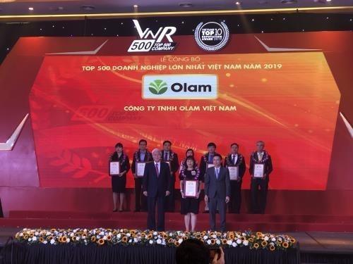 Anuncian lista de 500 mayores empresas de Vietnam en 2020 hinh anh 1
