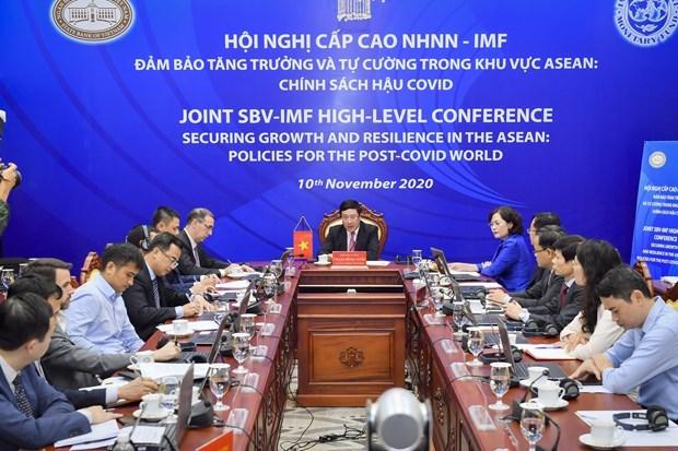 ASEAN promueve la recuperacion economica despues de COVID-19 hinh anh 1