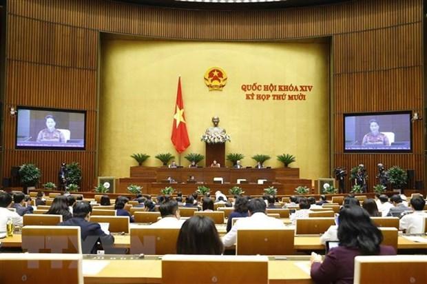 Votantes vietnamitas aprecian respuestas en sesiones de interpelacion del Parlamento hinh anh 1