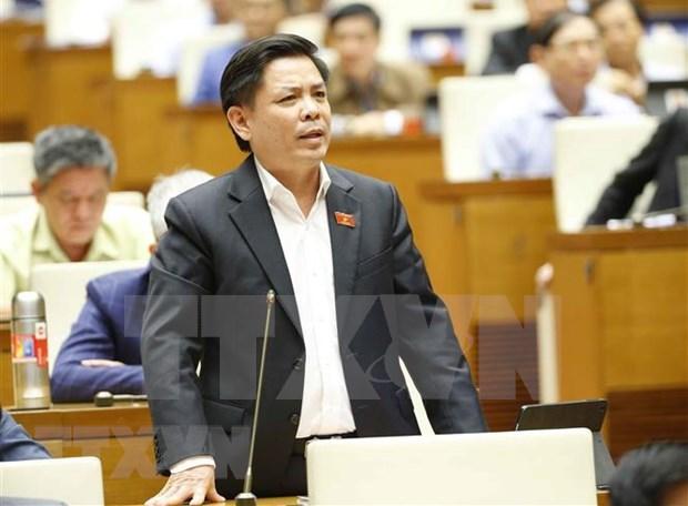 Ministro vietnamita de Transporte aclara varias soluciones de infraestructura de transporte en Delta del Mekong hinh anh 1